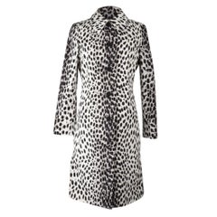 Christian Dior Coat Light Spring Leopard Print fits 8