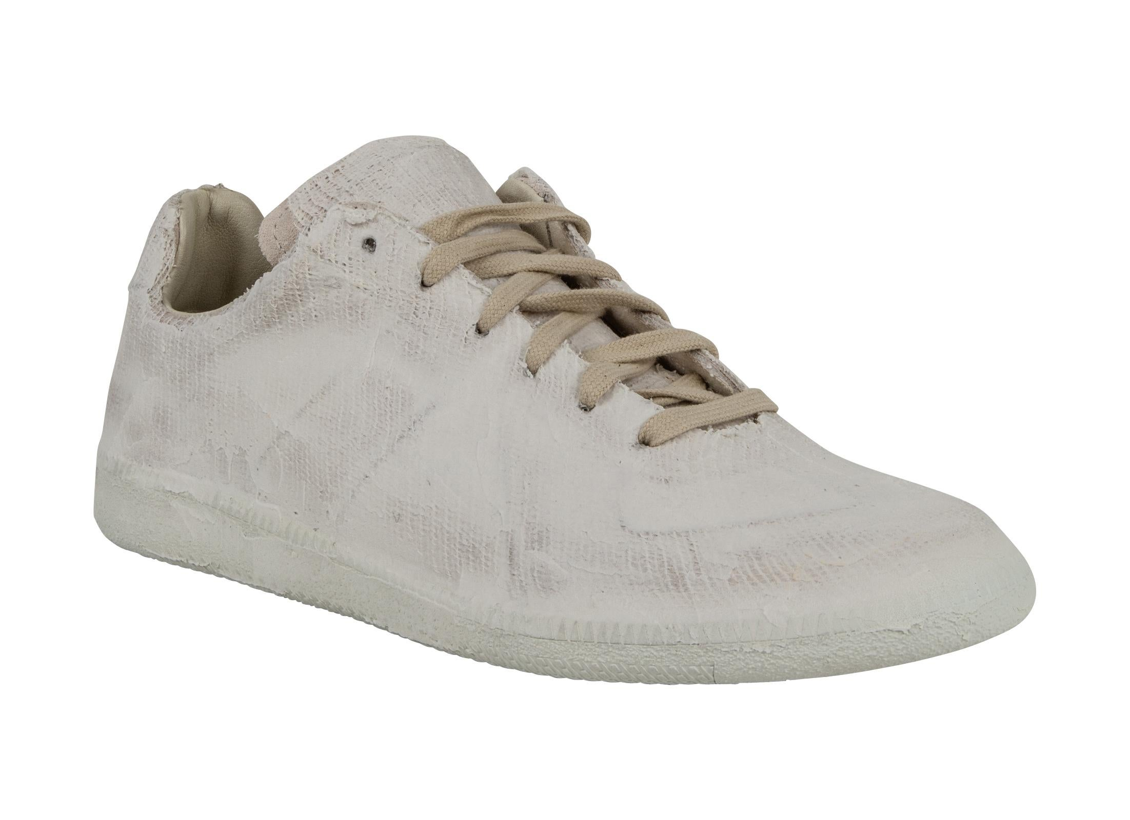 Margiela Martin Paint Sneaker White Finish Maison Sale 43 Men s For RxAWP 0f496395fb