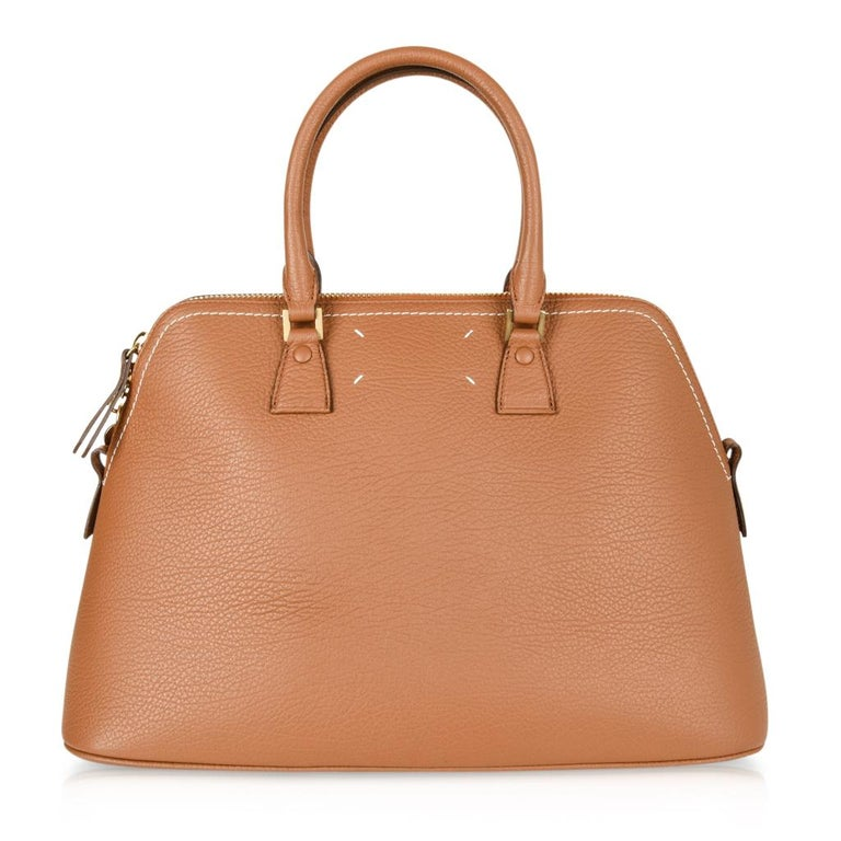Maison Margiela Bag 11 British Racing Tan Tote  For Sale 2