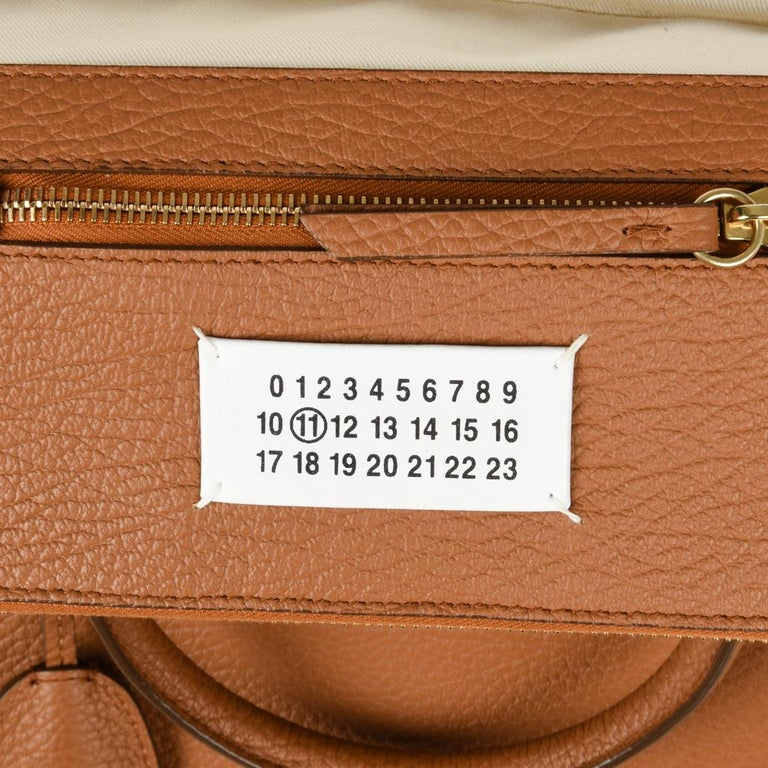 Maison Margiela Bag 11 British Racing Tan Tote  For Sale 4