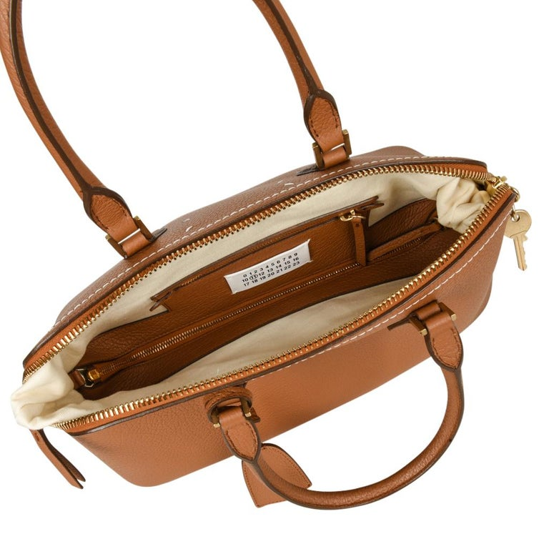 Maison Margiela Bag 11 British Racing Tan Tote  For Sale 3