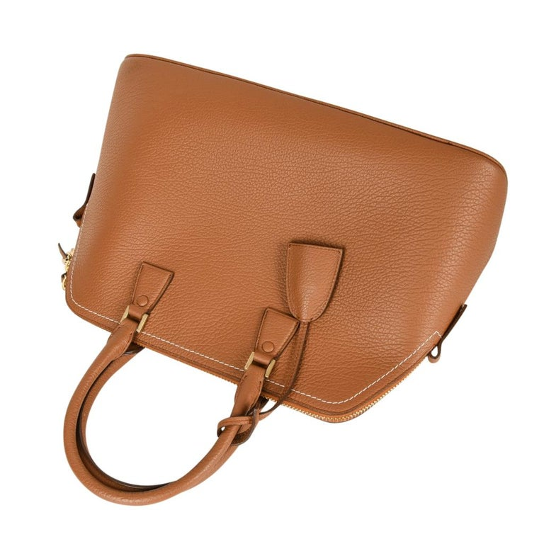 Orange Maison Margiela Bag 11 British Racing Tan Tote  For Sale
