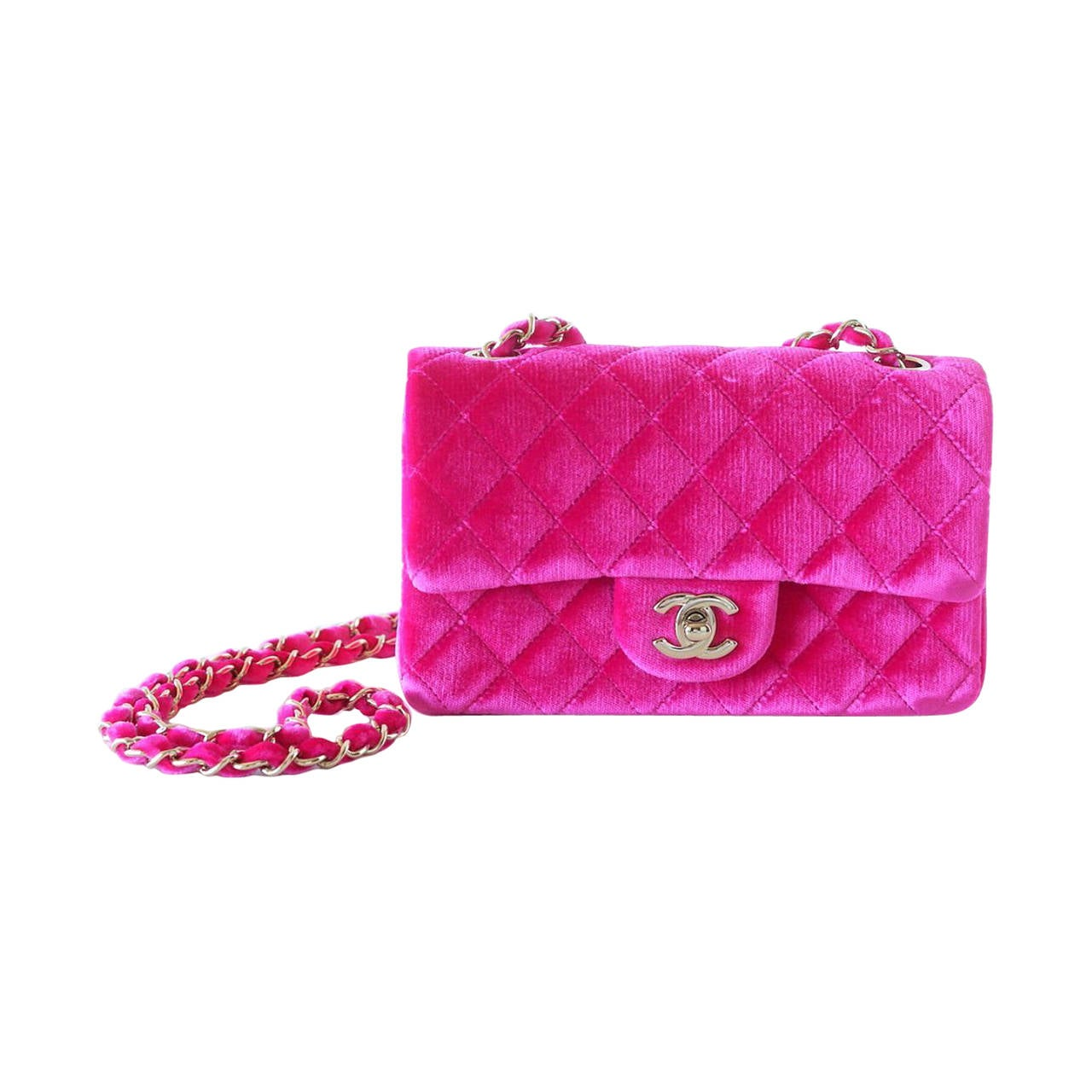3040bdb7702b Pink Velvet Chanel Bag   Stanford Center for Opportunity Policy in ...