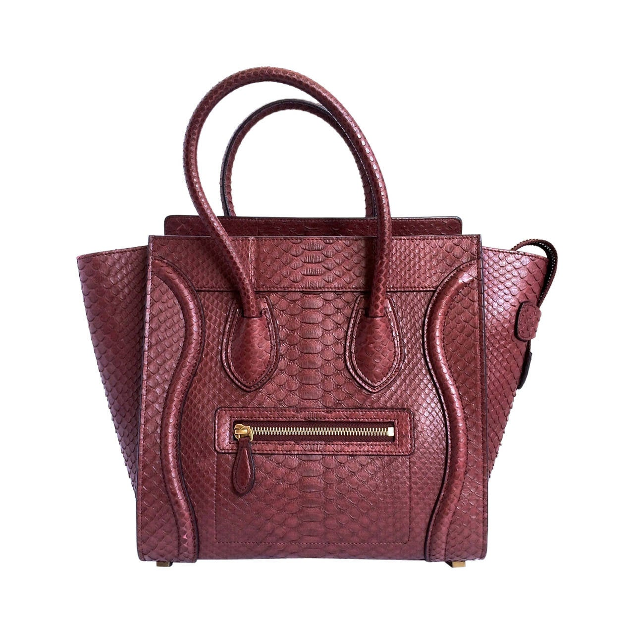 authentic celine phantom - celine burgundy handbag, celine micro luggage tote replica