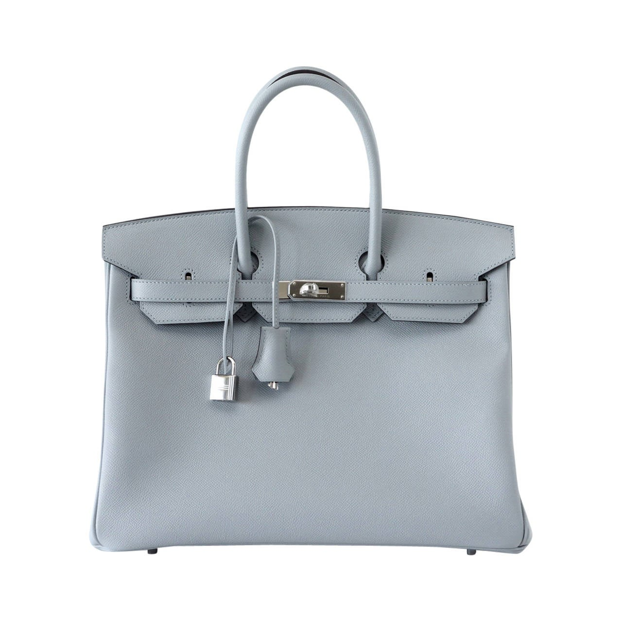 HERMES BIRKIN 35 bag Bleu Glacier New fall/winter 2105 colour 1