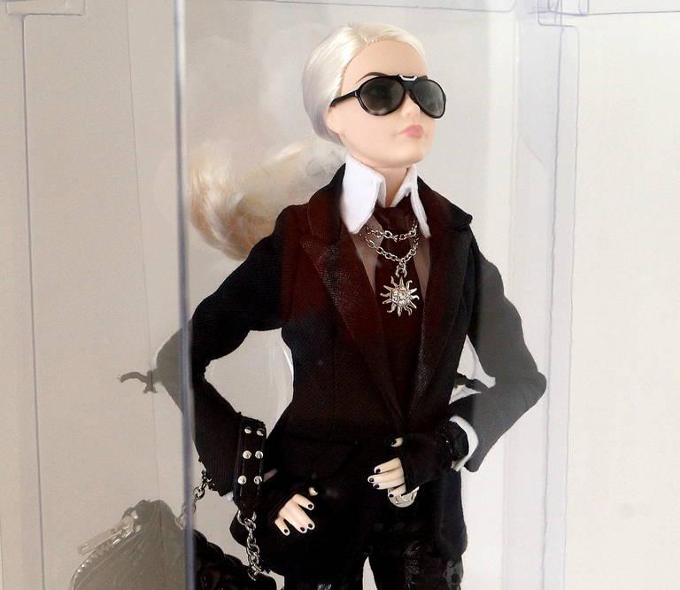 KARL LAGERFELD Barbie Doll Platinum Label LIMITED EDITION ...