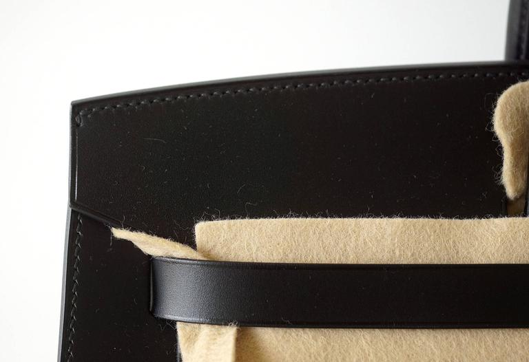 8e7787e29a19 HERMES BIRKIN 40 Sellier bag BLACK Vache Hunter Veau Evercalf Rare Ltd Edtn  In New