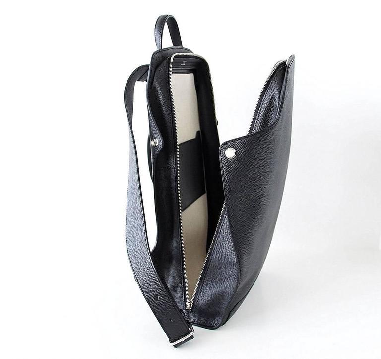 Men's Hermes Cityback Limited Edition Gentleman's Backpack Epsom Souple Supple  For Sale