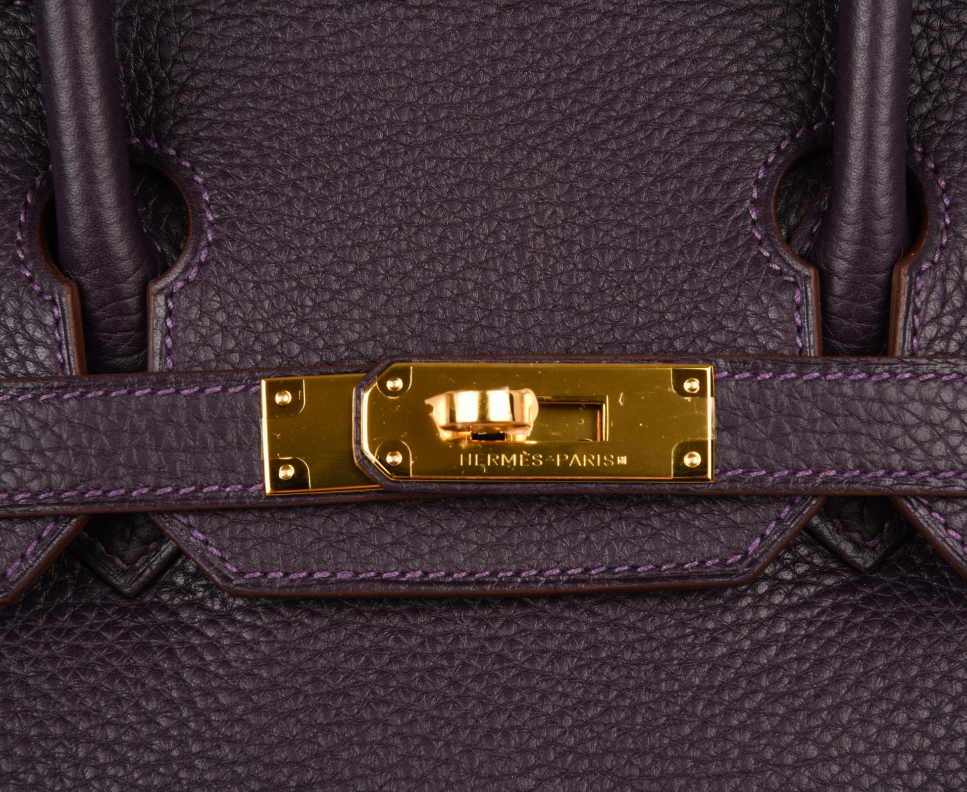6adfc1332588 ... where can i buy womens hermes birkin 30 rich raisin gold hardware  original colour togo bag