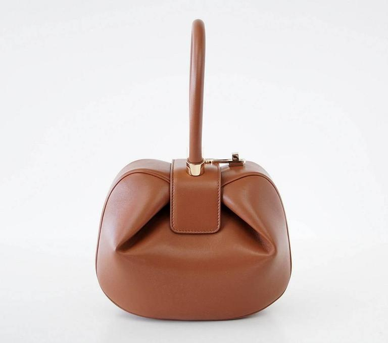 NINA Bag Gabriela Hearst Cognac Calf Leather Limited Edition Very Rare 2