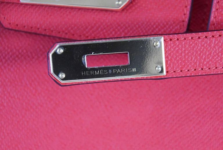 Hermes Birkin 30 Bag Rouge Tomate Epsom Gold Hardware 3