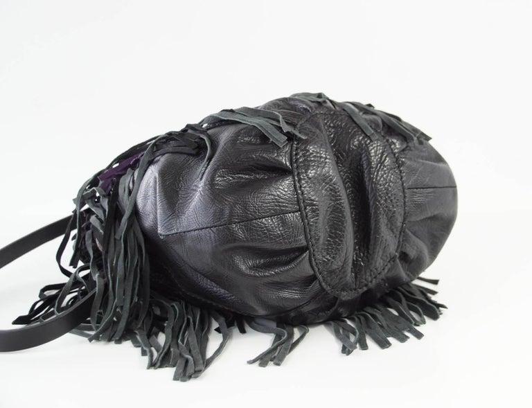 Henry Beguelin Bag Fringe Folies Bijoux Shoulder / Handbag Semi Precious Stones For Sale 2