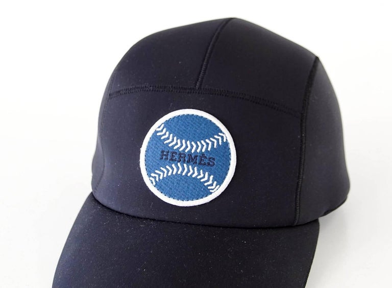 ... Hermes Hat Men s Limited Edition Baseball Cap Black Blue Baseball 59  Unisex For Sale. 252f13dde6ba