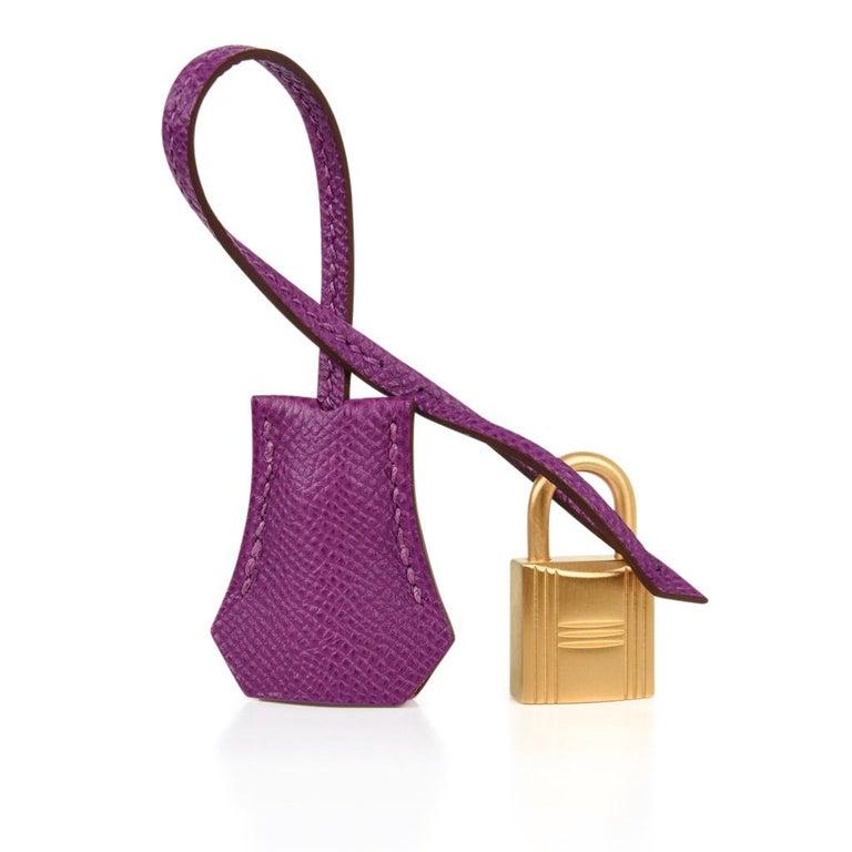 5d06ac8a5a Women s Hermes Kelly 28 Bag HSS Anemone Pink Retourne Epsom Brushed Gold For  Sale