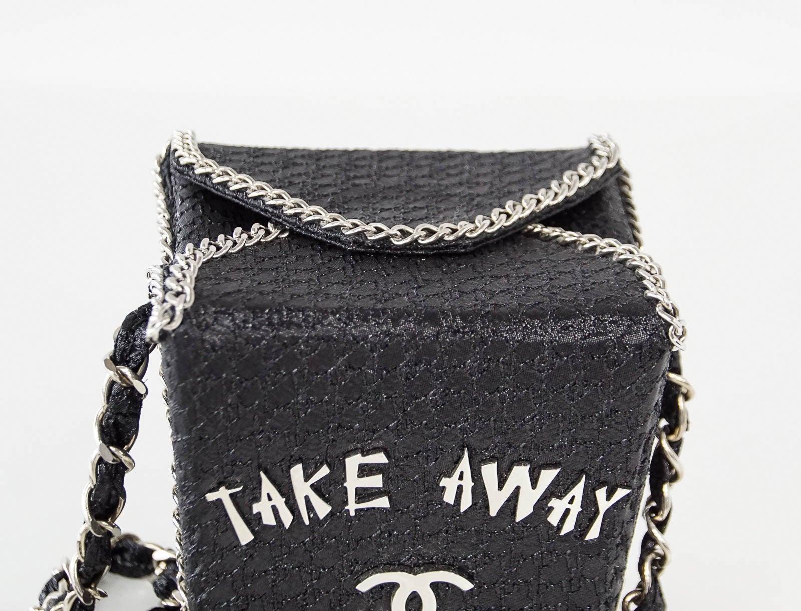33fc571a5716 Chanel Take Away Box Bag Rare Limited Edition Runway Shanghai Collection at  1stdibs