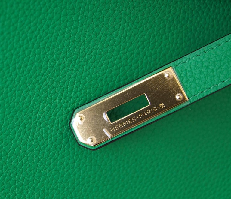 Guaranteed authentic Hermes 35 Birkin fresh Bamboo with coveted gold  hardware. Togo leather. Comes 2d2b3678406ce