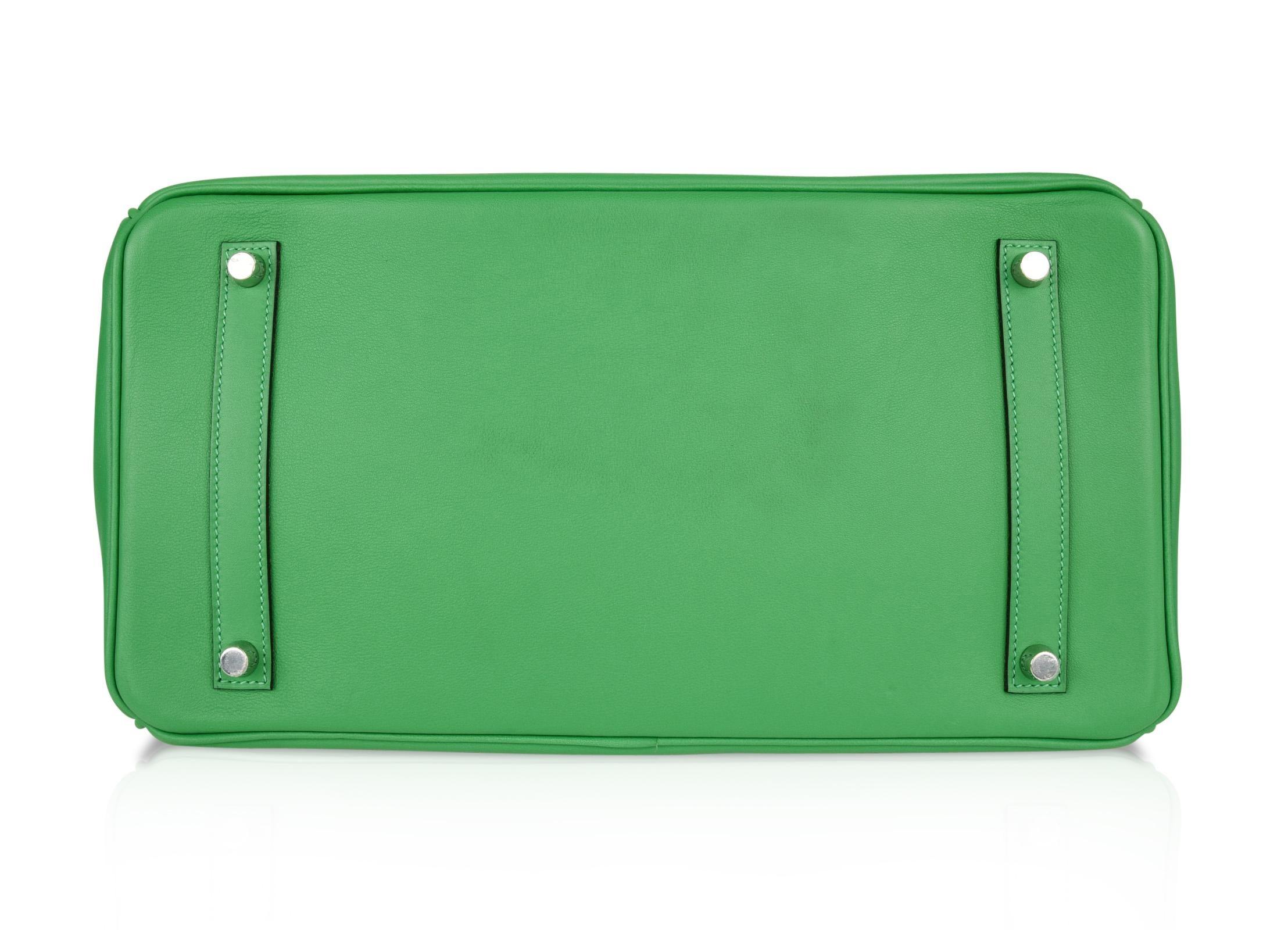 d79afbba0de Hermes Birkin 35 Ghillies Bag Rare Bamboo Palladium Hardware For Sale at  1stdibs