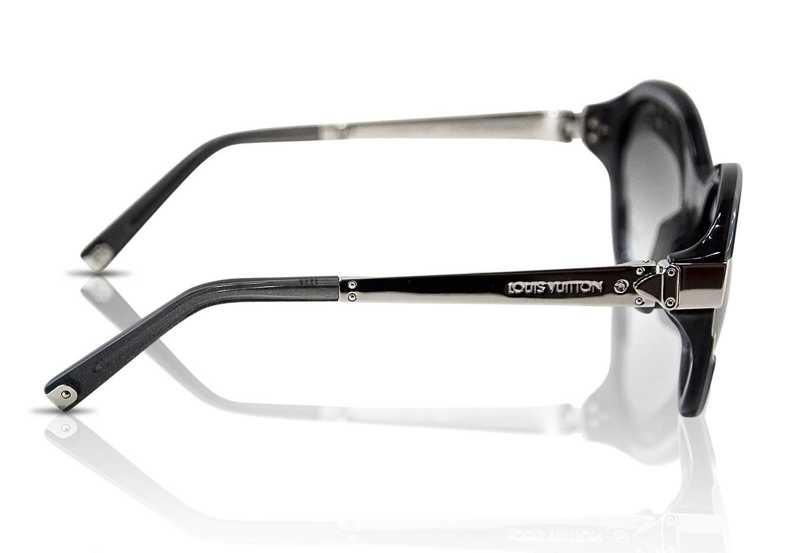 Louis Vuitton Sunglasses Black Petite Soupcon Cat Eye For Sale at ...