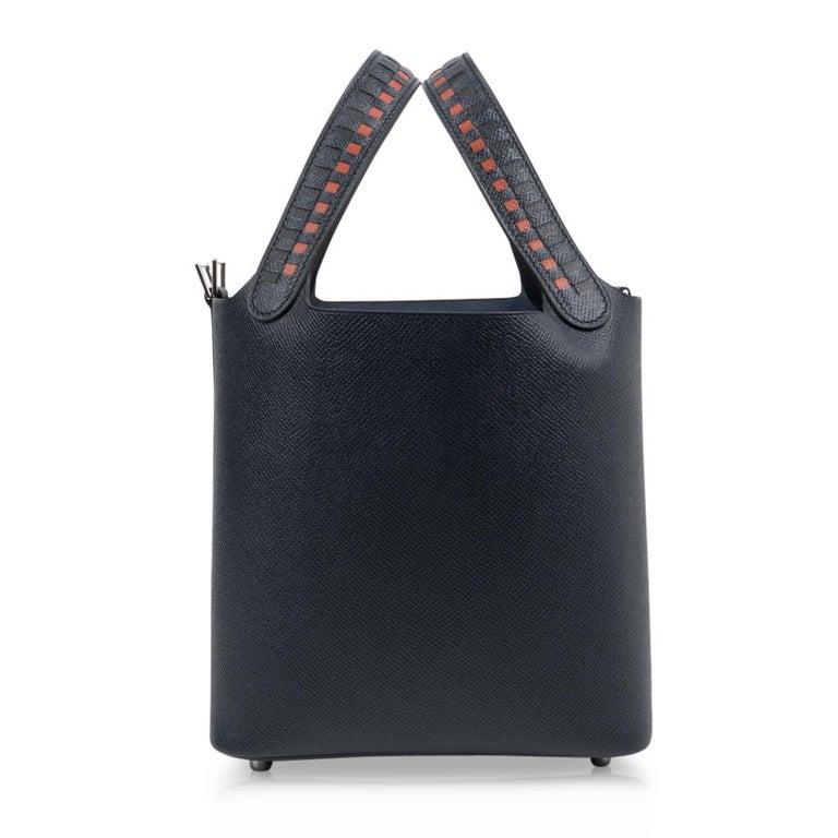 Hermes Picotin Lock 18 Tressage De Cuir PM Limited Edition For Sale 2
