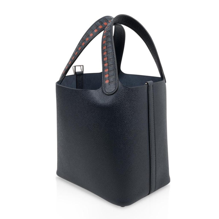 Hermes Picotin Lock 18 Tressage De Cuir PM Limited Edition For Sale 1