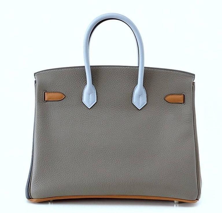 Hermes Birkin 35 Bag Arlequin Harlequin Limited Edition Clemence 5