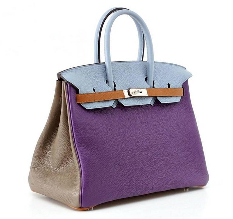 Hermes Birkin 35 Bag Arlequin Harlequin Limited Edition Clemence 3