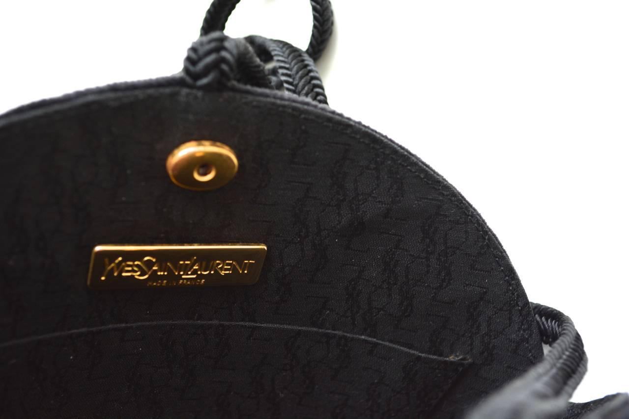 replica ysl clutch - yves saint laurent bow handle bag, college handbag