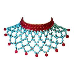 1950s Gripoix for Chanel Collar