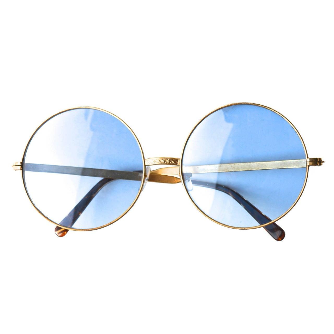 Sunglasses Circa 1960s Hippie Style 1