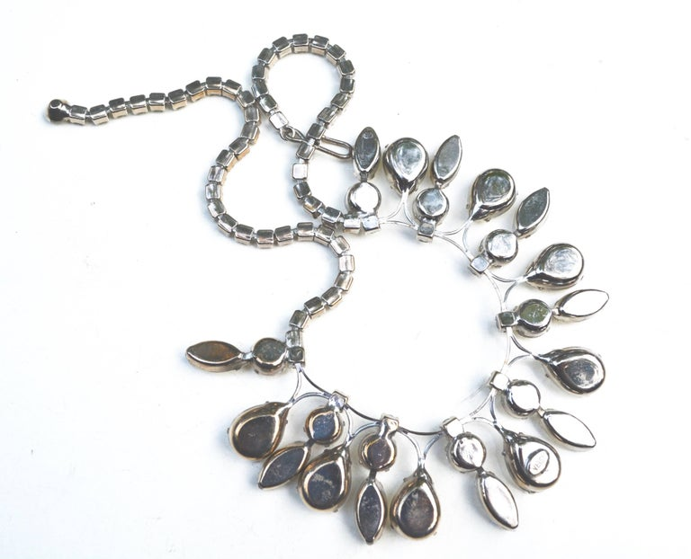 Weiss Glam Glass Drop Necklace  4