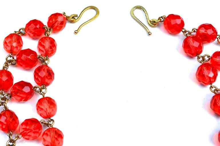 Glass Bib Necklace 2