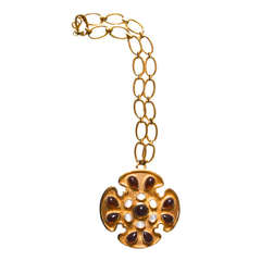 Trifari Maltese Cross Necklace