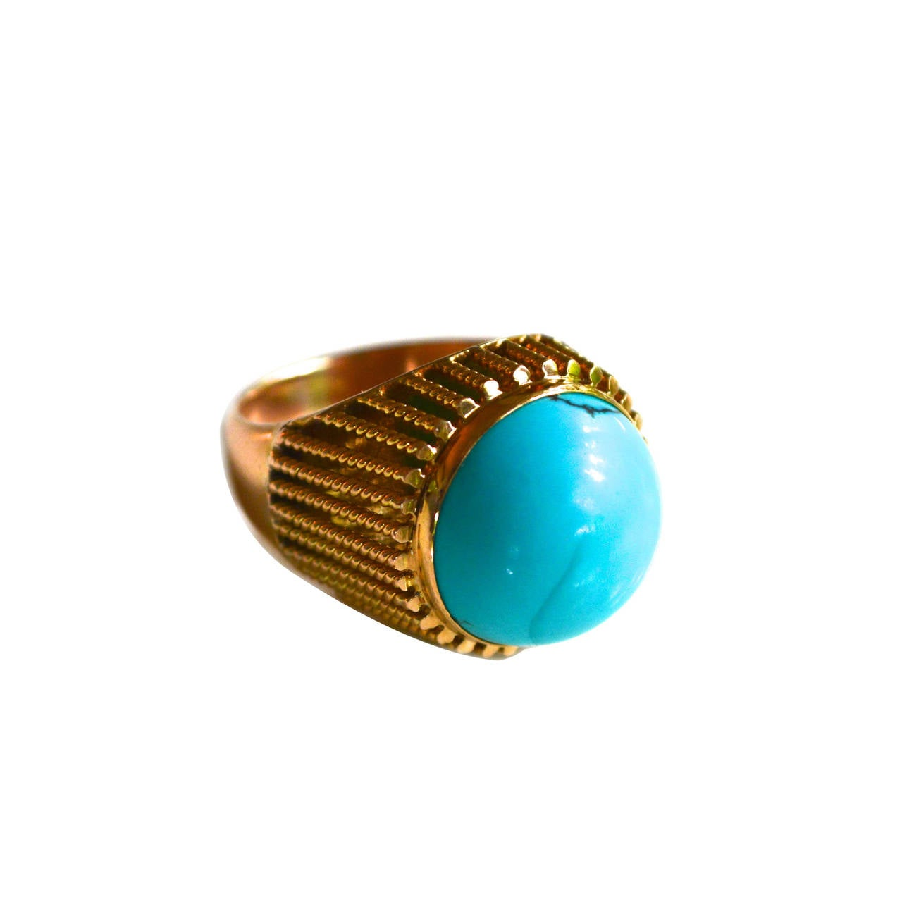 Oversized Natural Stone Ring