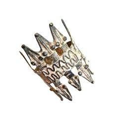 Lobi Burkina Faso Crocodile Amulet Armband 1900