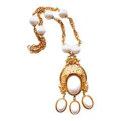 Alice Caviness Snake Necklace