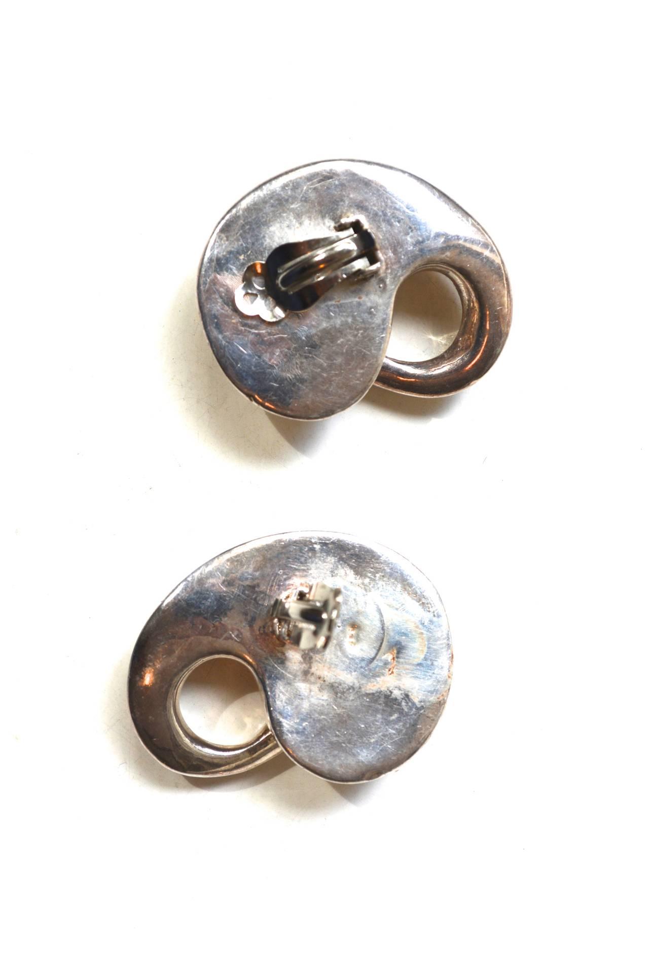 Organic Mod Sterling Earrings 4