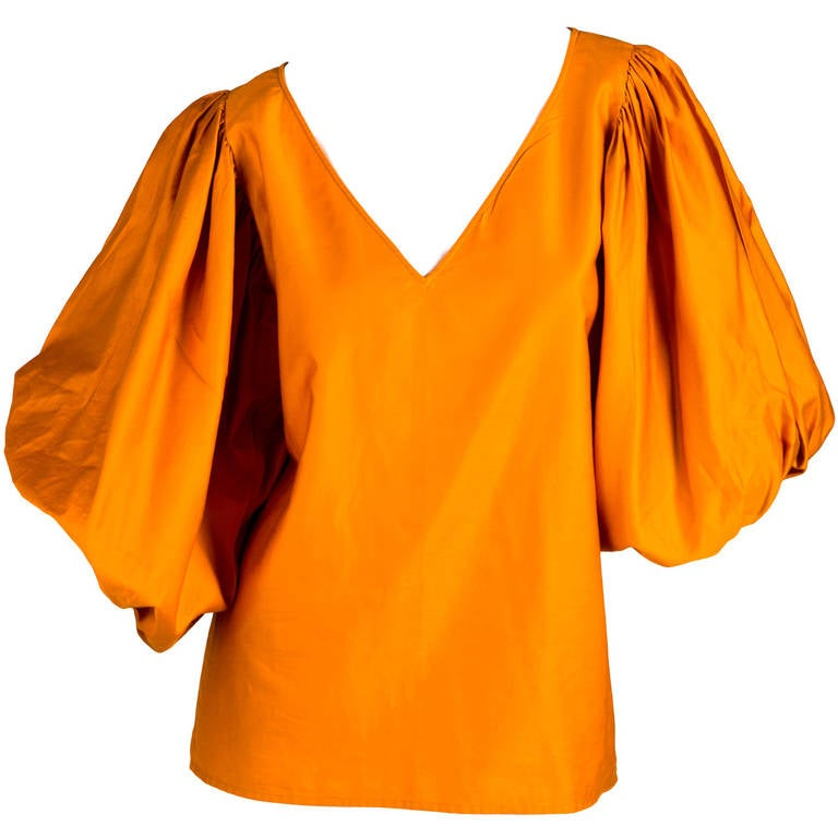 Saint Laurent Vintage Amazing Sleeve Blouse 1
