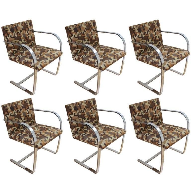 Six BRNO Chairs at 44stdibs | brno furniture fair