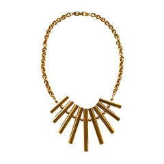 Pierre Cardin Mod Fringe Necklace