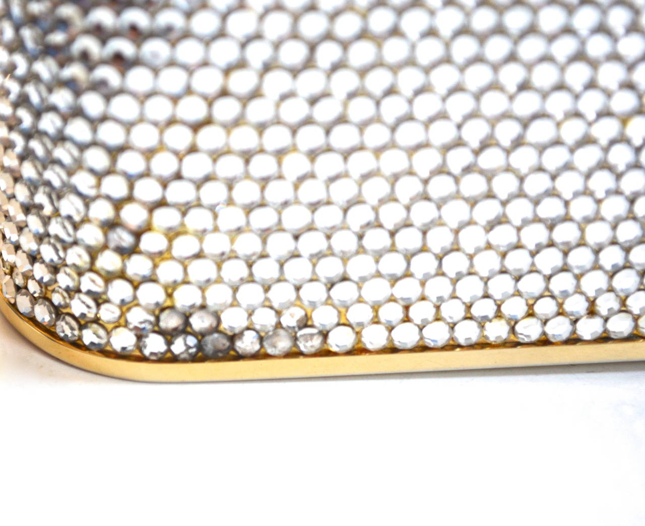 Women's Judith Leiber Crystal Intaglio Clutch For Sale