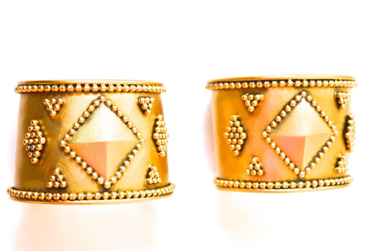 Yves Saint Laurent Armor Bracelets For Sale 1