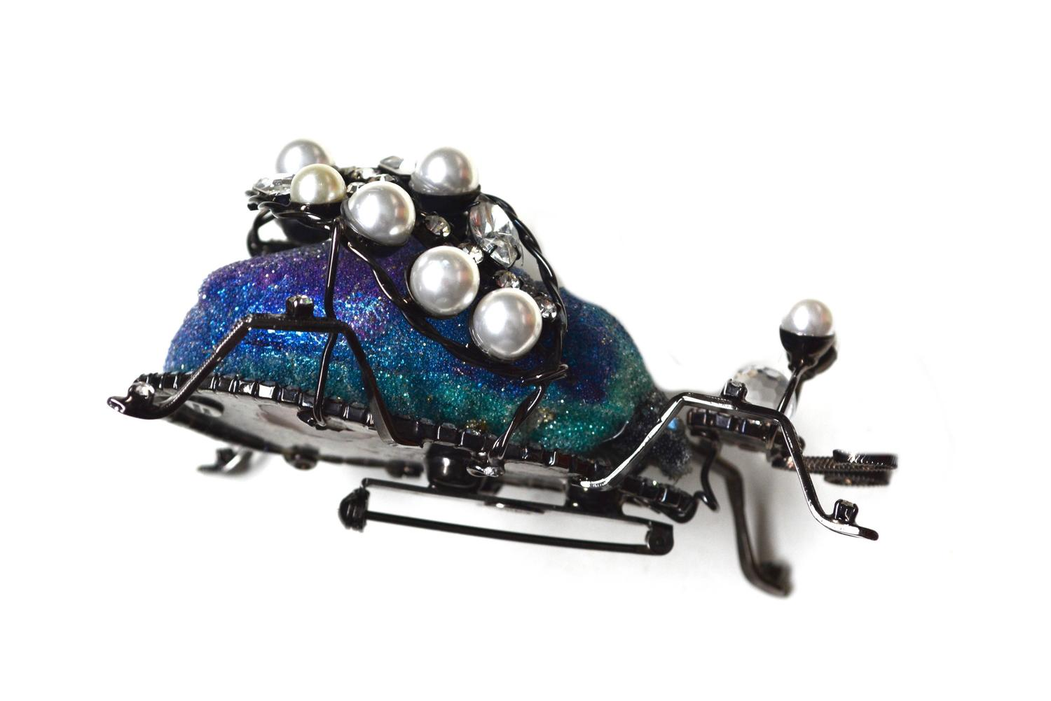 Lawrence Vrba Large Bug Brooch For Sale at 1stdibs