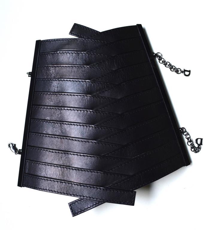 Dior Leather Armor Cuffs 2