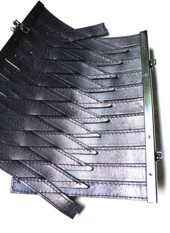 Dior Leather Armor Cuffs 5
