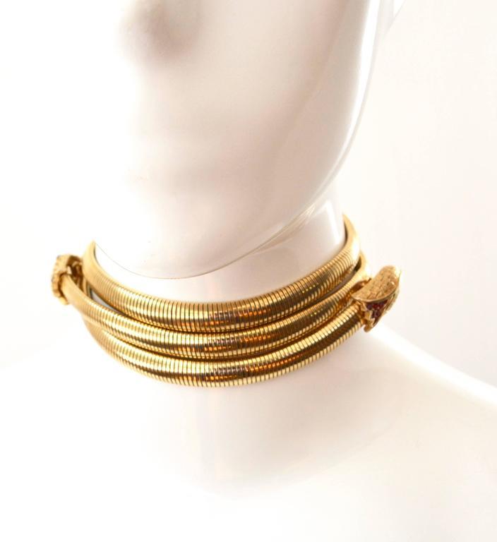 Trifari Snake Belt For Sale 1