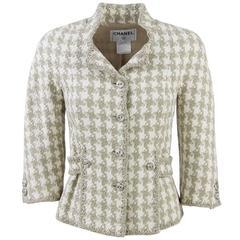 2008 Chanel Beige Silk Jacket