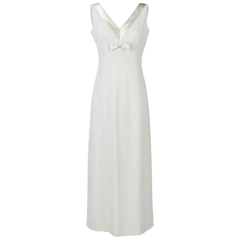1960s made in italy gianni de rossi wedding dress at 1stdibs for Wedding dresses made in italy