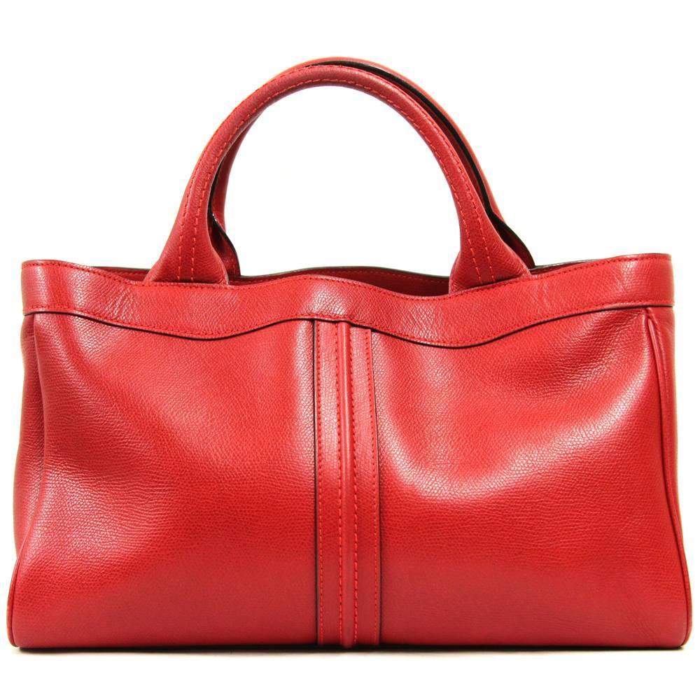 1stdibs 2000s Centro Laro Red Crocodile Leather Bag G6V6710H