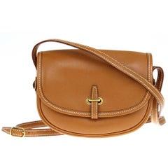 2010s Hermès Bal de Golf Leather Crossbody Bag