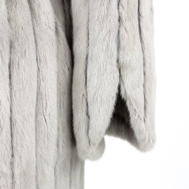 1970's Fendi Grey Sable Fur Coat 4